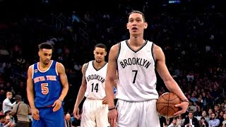 Jeremy Lin ( 15 pts, 11 ast ) VS Knicks (3-16-2017)