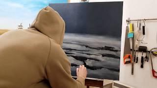Painting progress of Last Grape