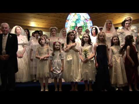 Video report from the Wedding Fashion Show staged at St Brigid's Church of Ireland to raise funds for the ovarian cancer charity Angels of Hope and the churc...