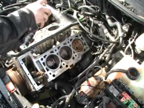 Head Gaskets on a 2.7 Dodge intrepid engine 016.MOD - YouTube