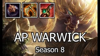 AP WARWICK MEJAIS SNOWBALL IS SO BROKEN!!! Troll Builds - (Season 8 League of Legends Gameplay)