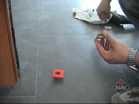 Diamond drill bits for porcelain tiles / Brocas de diamante para porcelanico RUBI EASYGRES