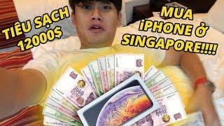 """""""KINH HOÀNG"""" KÍ SỰ TIÊU SẠCH 12000$ TẠI SINGAPORE!!!"""