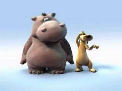 Hippo And Dod-lion King Song In Fast And Slow Motion video