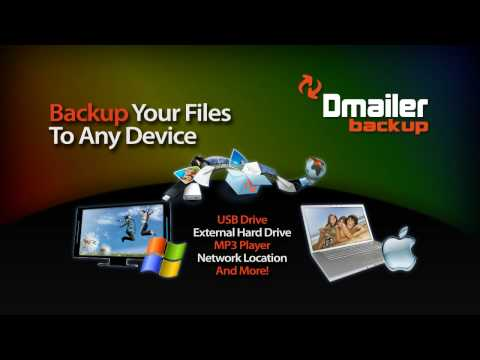 FREE Backup Software - PC and Mac - Dmailer Backup V3 with Online Storage (2GB Free!)