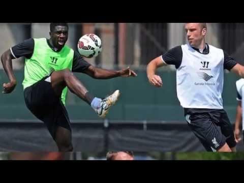 Brendan Rodgers schools his players in Liverpool training at Harvard University
