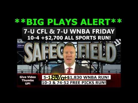 10-3 FREE SPORTS PICKS RUN – Expert MLB Baseball Predictions June 23rd Vernon Croy (10-4 +$2,700)