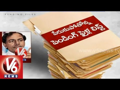 Telangana CM KCR reject files without clearance cause, pending files piling up in CMO
