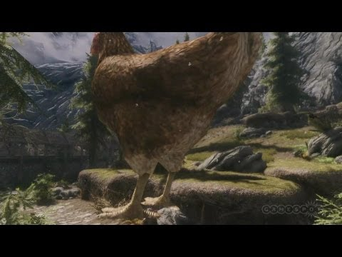 Top 5 Skyrim Mods of the Week - Hyper Atomic Chicken Cannon