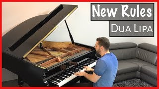 Dua Lipa - New Rules | Naor Yadid Piano Cover