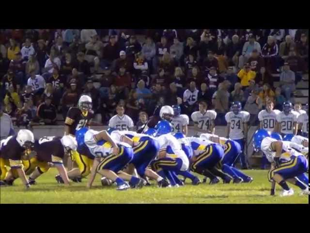 Menominee Maroon High School Football Game 9 27 13