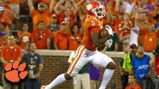 Clemson's Trevor Lawrence Hooks Up with Tee Higgins on 58-Yard Touchdown