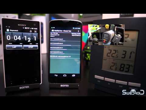 Google Nexus 4 overheating and shutting down during...