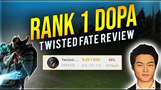 Rank 1 DOPA smurfing in CHINA   Translated Twisted Fate review