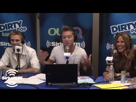 Lance Bass Tells About a Romantic Moment with Andy Cohen on SiriusXM