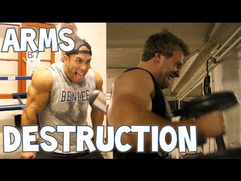 Arms Destruction with Antoine Vaillant | Furious Pete