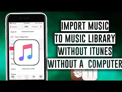 How to import Music to your Music Library without iTunes or a Computer - iOS 11 / 11.3.1