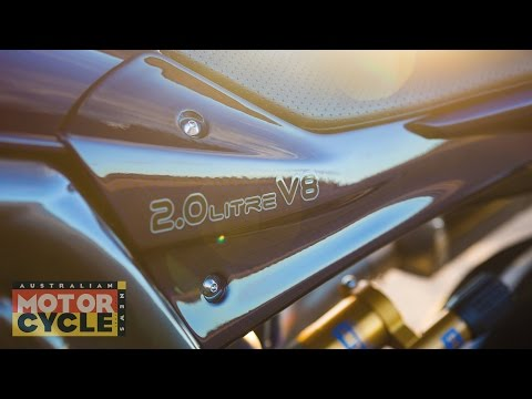 World Exclusive | 334hp 2000cc Aussie-built V8 motorcycle!