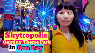 Skytropolis Genting Highlands Indoor Theme Park in One Day [Small Girl Big World]