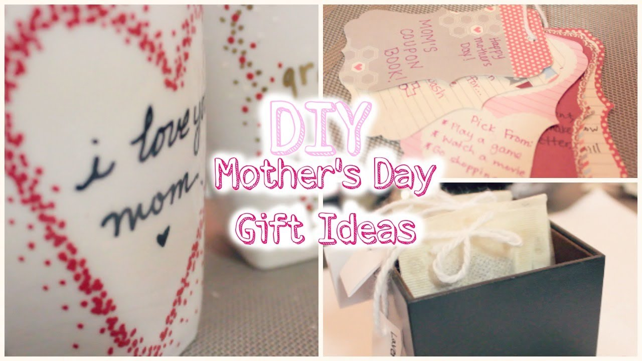 Diy mother 39 s day gift ideas courtney lundquist youtube Mothers day presents diy