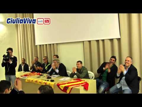 Sala Buozzi 9 ottobre 2014  presentazione nuovo organigramma societario Giulianova Calcio
