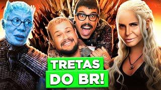 BATALHAS ÉPICAS BRASILEIRAS QUE PISAM EM GAME OF THRONES | Diva Depressão