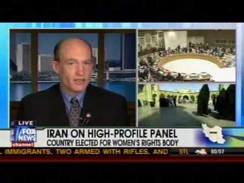 McCotter on Fox Discussing Iran's Selection to the U.N. Commission on the Status of Women (5.1.2010)