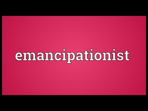 Header of emancipationist