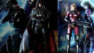Capitan Harlock Action Figures Recensione