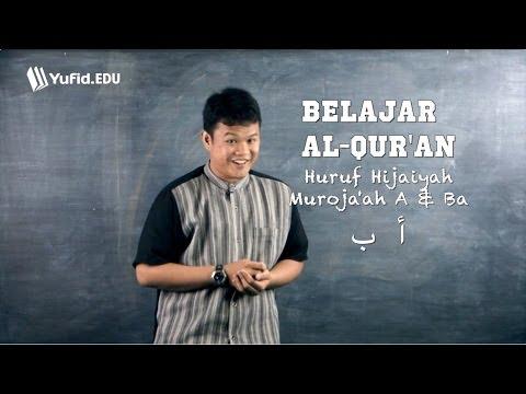 Belajar Membaca Alquran Huruf Hijaiyah A Dan Ba - Review Bag. 2 (seri 005) video