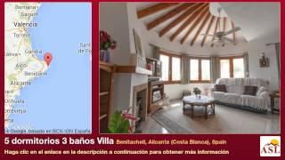 5 dormitorios 3 baños Villa se Vende en Benitachell, Alicante (Costa Blanca), Spain