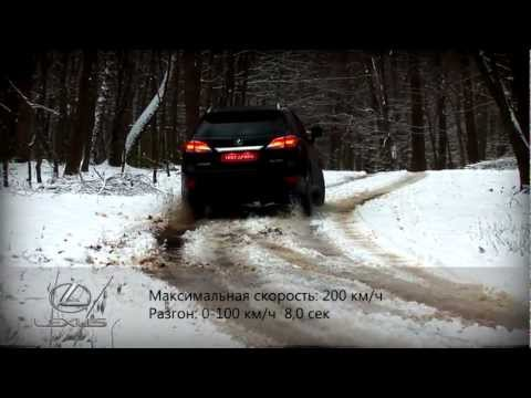 Тест Lexus RX 350 Awd F Sport
