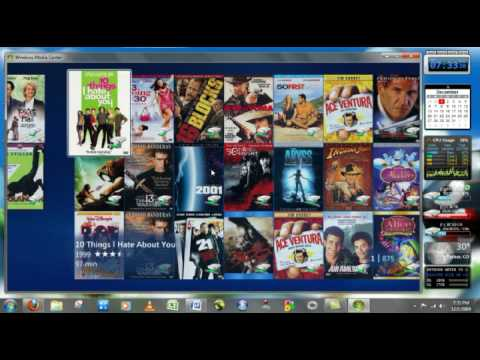 My Movies Windows Media Center Plug-in Demo