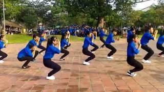 Dân vũ - Trống cơm - Đoàn xã Thủy Tân