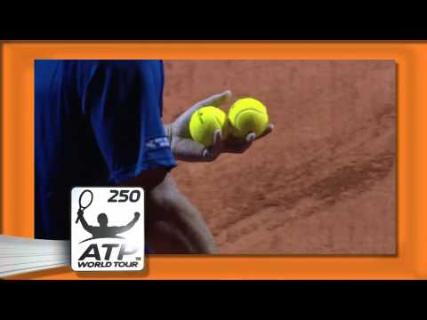 David Ferrer vs David Nalbandian Copa Claro ATP 250 Tennis Series [2nd Round 22/2/13]
