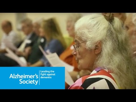 What is Singing for the Brain? An Alzheimer's Society service for people affected by dementia - 2015