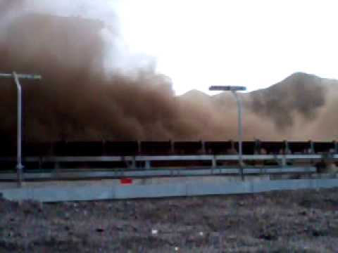 accident at powerplant : blown on coal yard