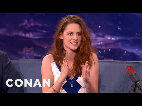 Kristen Stewart Has A Famewhore Dad - CONAN on TBS