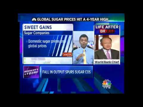 Global Sugar Prices Hit A 4 Year High. Domestic Sugar Cos Surge In Trade