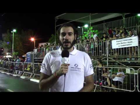 JE acompanha os desfiles das escolas de samba de S�o Roque