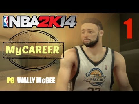 NBA 2K14: MyCareer EP1 - Creation of Pass First PG Wally McGee