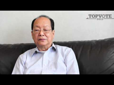TOPVOTE 2013 Ernesto Maceda: On the Philippine Economy [03]