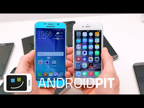 Samsung Galaxy S6 vs Apple iPhone 6 : test comparatif