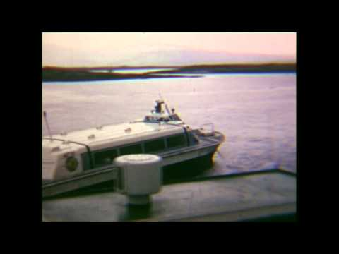 Millport, Great Cumbrae, 1971, MV Keppel & HM2 Hovercraft