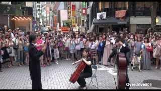 フラッシュモブ   第九  オーケストラと合唱団