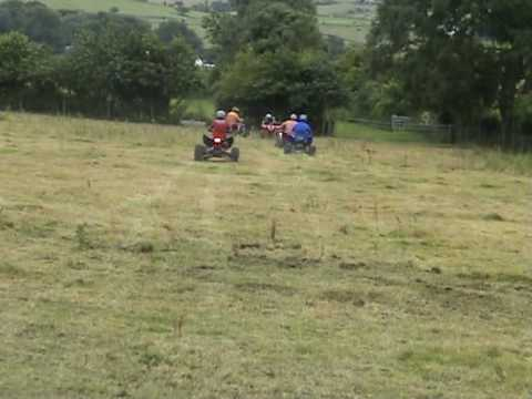 Ayrshire Quad Squad Fun Time in The Field Polaris Outlaw Raptor