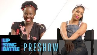 Preshow: Lupita Nyong'o vs. Regina Hall | Lip Sync Battle