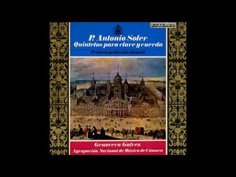 Antonio Soler: Quintet for Harpsichord and Strings in C major (V. Allegro) - Genoveva Galvez