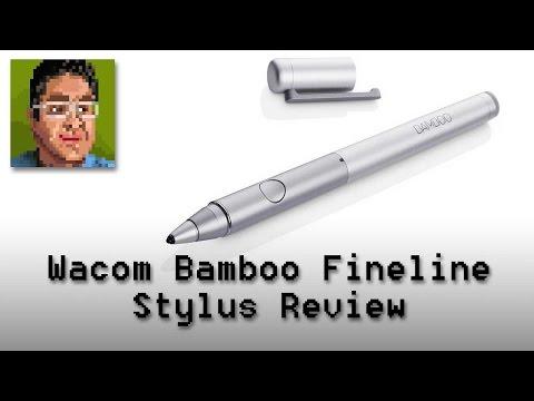 Wacom Bamboo Fineline Stylus for iPad Review