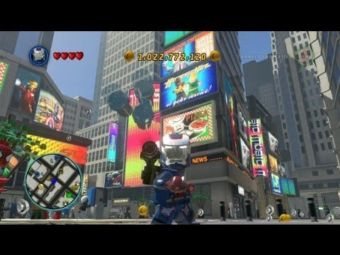 LEGO Marvel Super Heroes - Unlocking Iron Patriot + Gameplay (Character Token Guide)